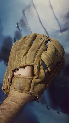 antiguo guante de beisbol de coleccion baseball