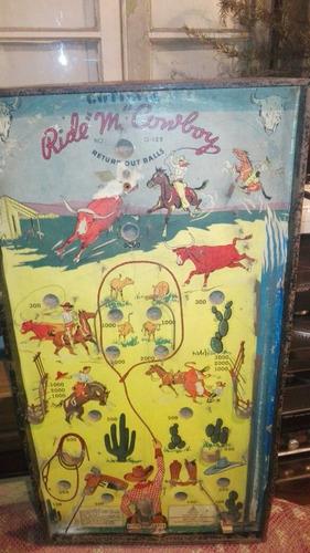 antiguo juego pinball año 1939  gotham new york usa