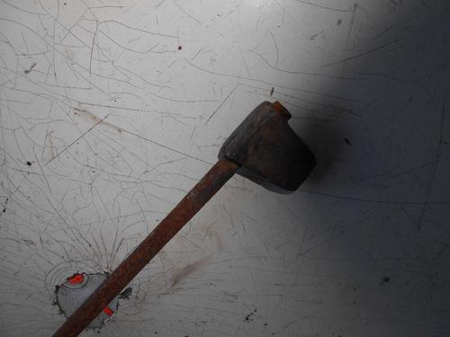 antiguo soldador de cobre