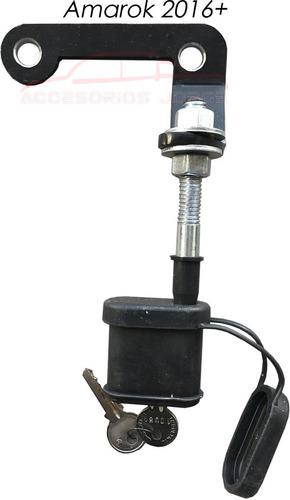 antirrobo rueda de auxilio el+seguro amarok ranger hilux s10