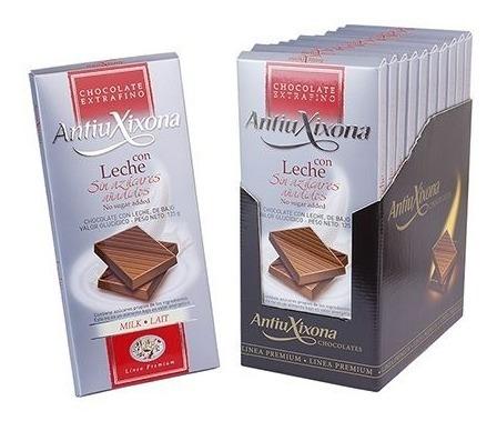 antiuxixon chocolate leche sin azucar
