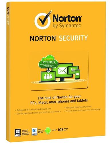 antivirus norton internet security 3 pcs 2 años