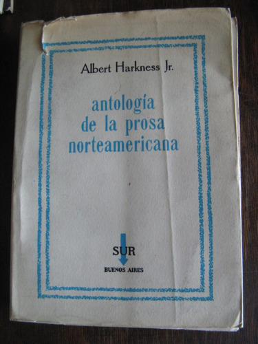 antología de la prosa norteamericana. a. harkness jr.