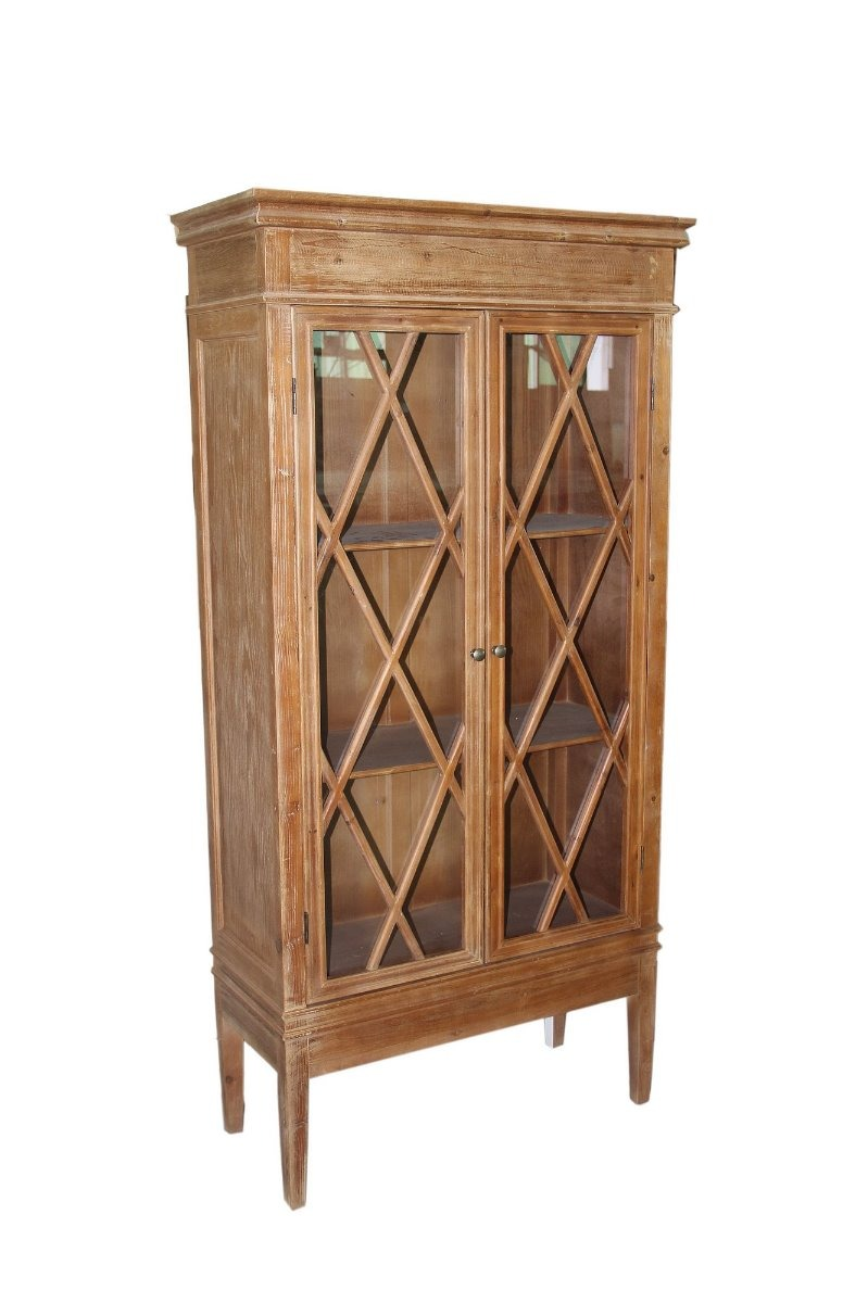 Aparador armario biblioteca madera muebles envio gratis for Muebles madera montevideo