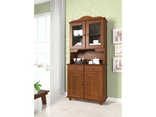 aparador cristalero madera gran capacidad almacenaje en caja