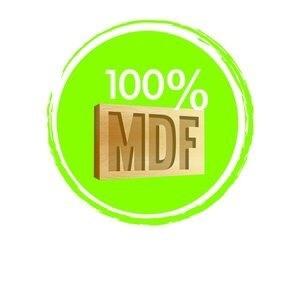 aparador micaela 100% mdf garantia calidad oferta