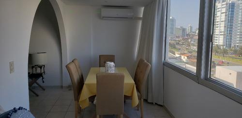 apartamento 1 dormitorio y medio playa mansa