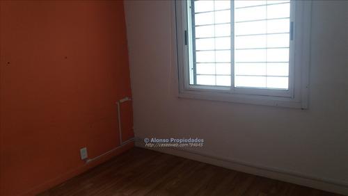 apartamento 2 dormitorios patio con parrillero cordon