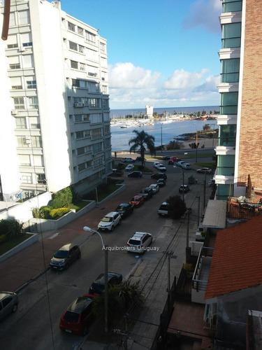 apartamento 2 dormitorios venta con renta puerto del buceo