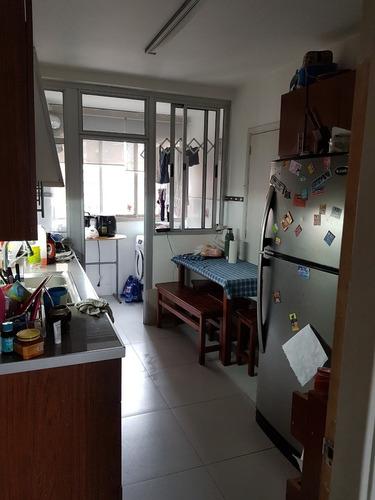 apartamento 3 dorm, 2 baños, servicio completo y garaje fijo