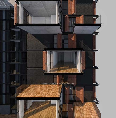 apartamento 3 dormitorios con terraza al frente