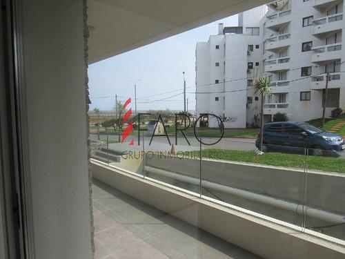 apartamento a estrenar en mansa 3 dormitorios con terraza con parrillero - ref: 35866