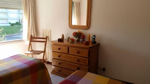 apartamento con excelente vista a playa mansa