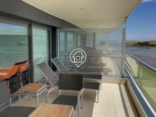 apartamento con vista al mar punta ballena punta del este - ref: 64