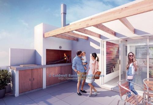 apartamento de 1 dormitorio con patio en venta en pocitos