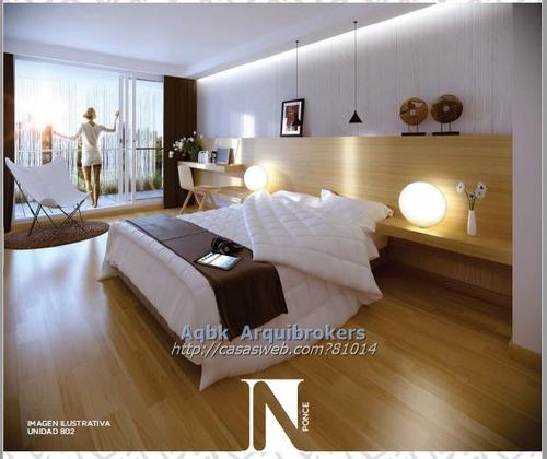 apartamento de 1 dormitorio en venta en parque batlle
