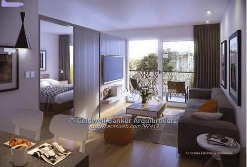 apartamento de 1 dormitorio en venta en pocitos