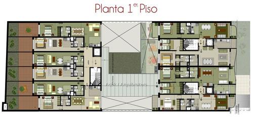 apartamento de 1 dormitorio en venta en pocitos nuevo