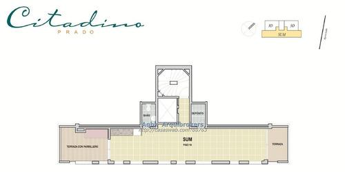 apartamento de 1 dormitorio en venta en prado con renta