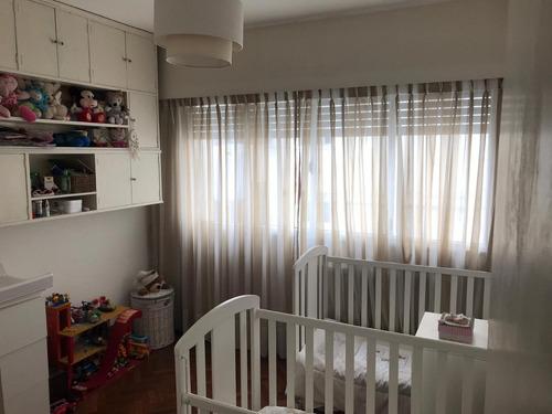 apartamento de 2 dormitorios en zona privilegiada de pocitos