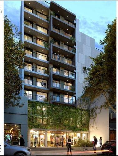 apartamento de 2 dormitorios y patio en venta en cordón