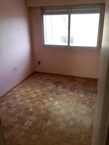 apartamento de 3 dormitorios con garage en malvin