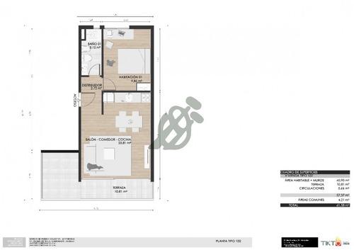 apartamento de tres dormitorios divinos, entrega julio 2019 - ref: 1623
