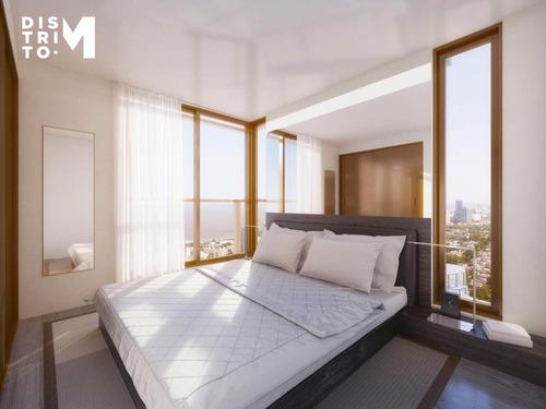 apartamento - distrito m- dos dormitorios