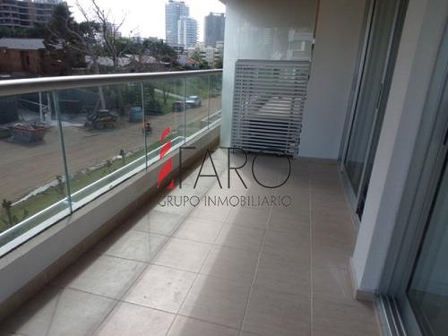 apartamento en brava 2 dormitorios con doble terraza y garage - ref: 35955
