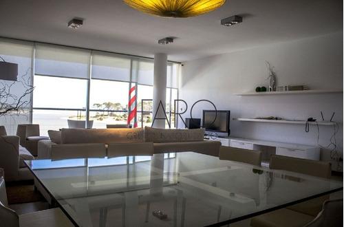 apartamento en la barra 3 dormitorios y servicio con terraza y cochera - ref: 35922