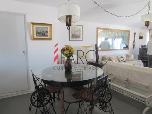 apartamento en la península 2 dormitorios con terraza y parrillero - ref: 35996
