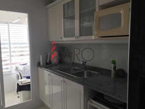 apartamento en mansa 3 dormitorios y dependencia con garage - ref: 36385