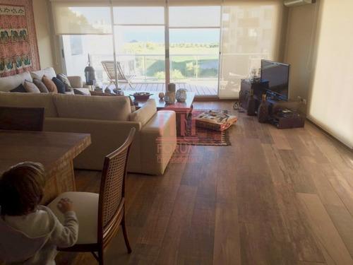 apartamento en primera linea del mar tres dormitorios  - ref: 1312
