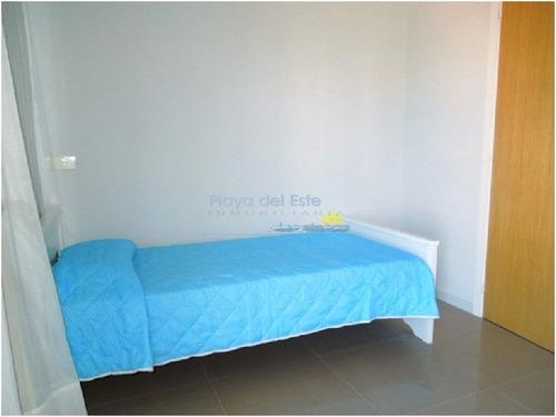 apartamento en punta del este, mansa | playa del este ref:7756 - ref: 7756