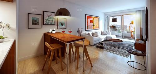 apartamento en venta 1 dormitorio a estrenar en pocitos - in