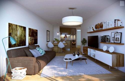 apartamento en venta 1 dormitorio cordón c/patio - dom roxlo
