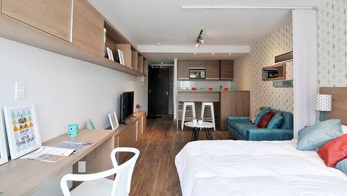 apartamento en venta 1 dormitorio, pocitos - infinity bux