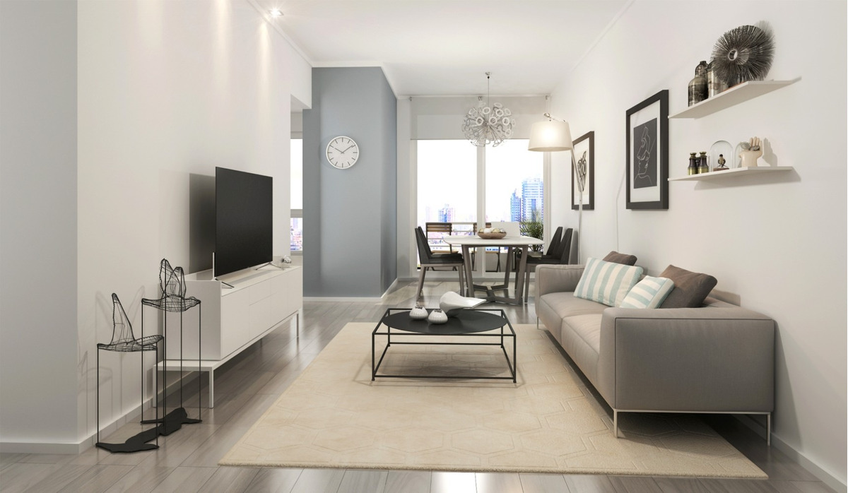 apartamento en venta 1 dormitorio sobre av. ponce - new park