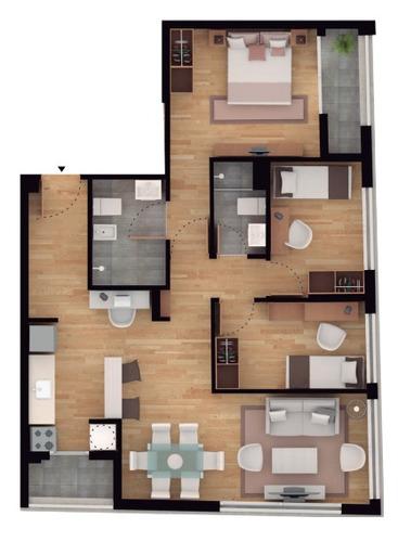 apartamento en venta centro 2 dormitorios nostrum dieciocho