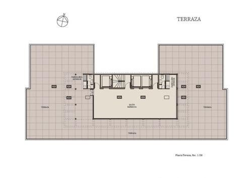 apartamento en venta de 1 dormitorio en playa mansa