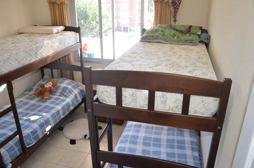 apartamento familiar con terraza a 2 cuadras de la playa