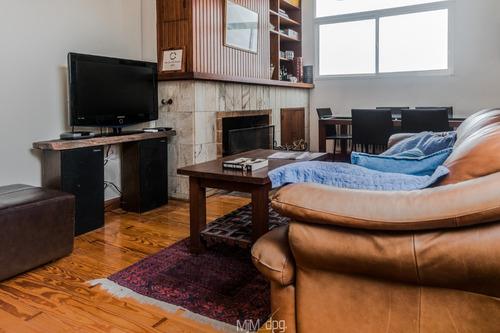 apartamento, gomensoro 3 dormitorios, 2 baños, gge y e/leña.