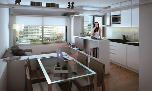 apartamento malvin e tower 1 dormitorio 1 baño y garage