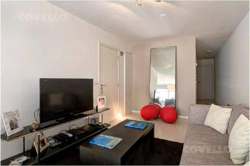 apartamento moderno, 2 dormitorios, 2 baños, cocina integrada