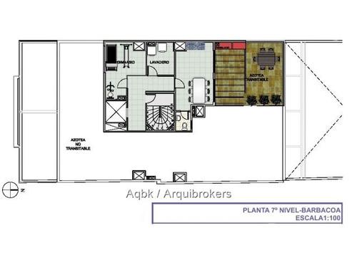 apartamento monoambiente en venta en parque rodó
