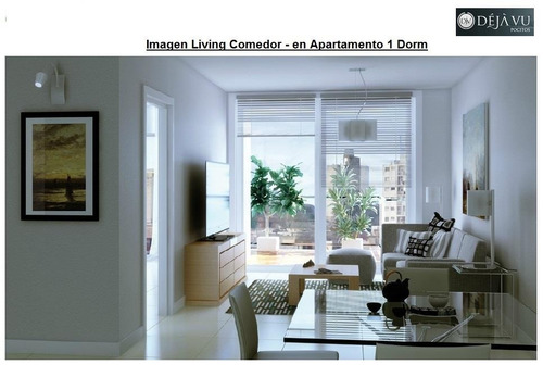 apartamento penthouse de 1 dormitorio en venta en pocitos