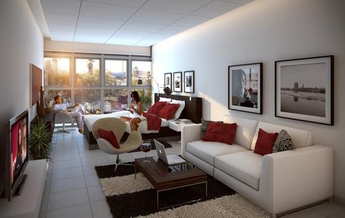 apartamento pocitos trade point 1 dormitorio 1 baño y garage