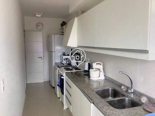 apartamento punta del este aidy grill 3 dormitorios piscina parrillero - ref: 22