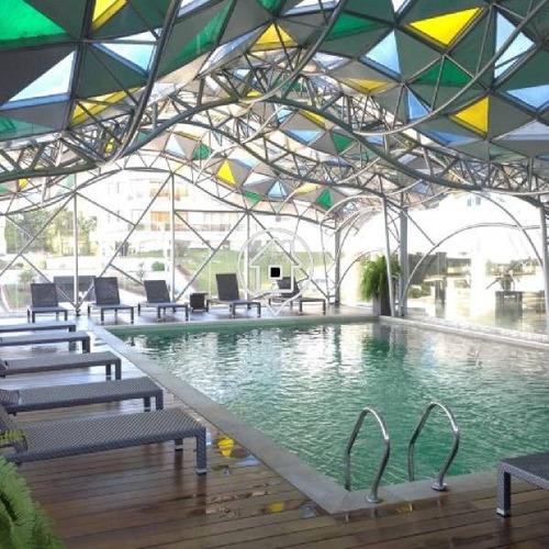 apartamento punta del este playa brava piscina parrillero dos domitorios  - ref: 50