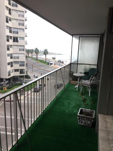apartamento rambla 2 dormitorios y 2 baños con garaje